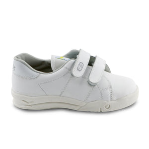 White Leather Sneakers (SS-7136)