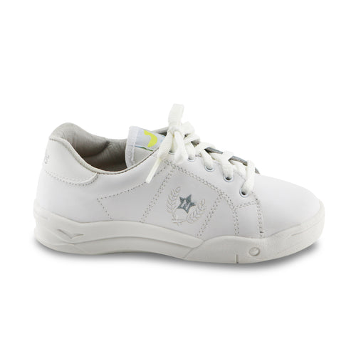 White Leather Sneakers (SS-7137)