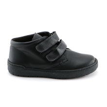 Black Leather School Shoe (SS-8053) - SIMPLY SHOES HONG KONG