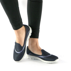 Blue Casual Sneakers (970.006) - SIMPLY SHOES HONG KONG