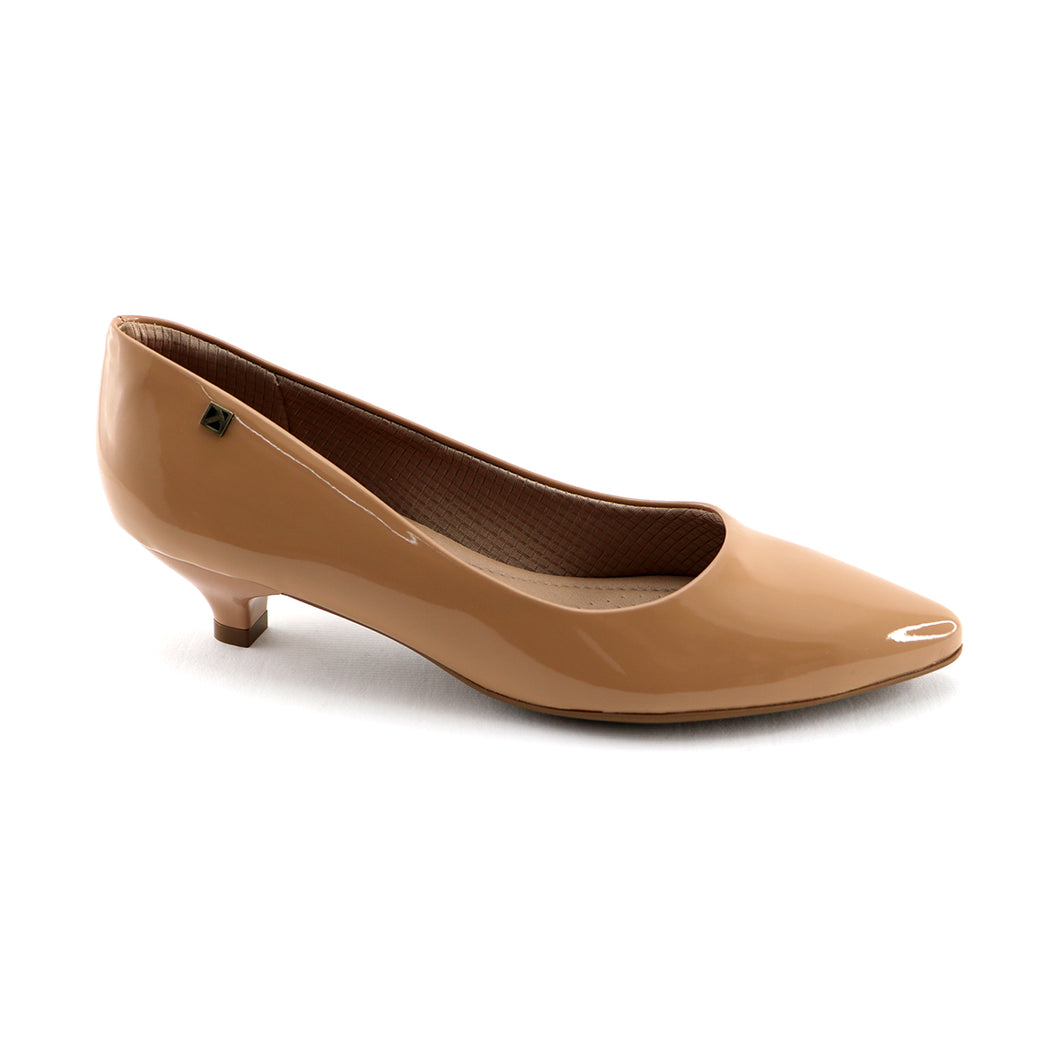 Nude Pat Pointed Pumps (275.002)