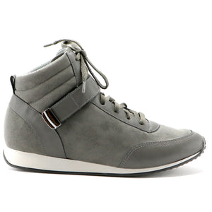Grey Casual Boot  (968.008) - SIMPLY SHOES HONG KONG