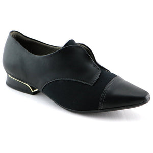 Black Napa/Microfibra Ladies loafer (278.007)