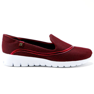 Red Casual Sneakers  (970.006) - SIMPLY SHOES HONG KONG