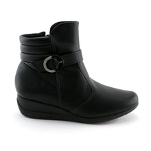 Black Napa comfort Ankle Boot (117.029)