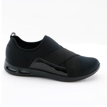 Black LIGHTSTEP Sneakers for Women (979.002) - SIMPLY SHOES HONG KONG