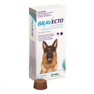 BRAVECTO FLEA AND TICK CHEW FOR LARGE DOG 20-40KG