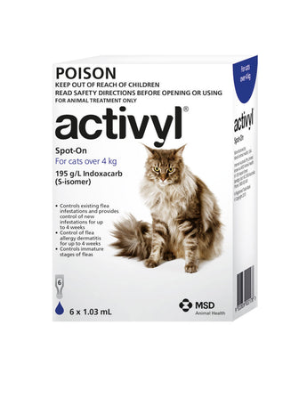 ACTIVYL CAT OVER 4KG 6 PK