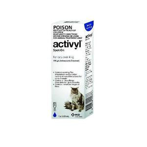 ACTIVYL CAT OVER 4KG 1 PK
