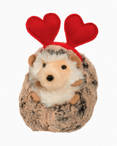 DOUGLAS- SPUNKY HEDGEHOG WITH VALENTINE HEARTS