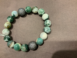 Shop Shai Butterfly accessories- Moss Agate energy stone