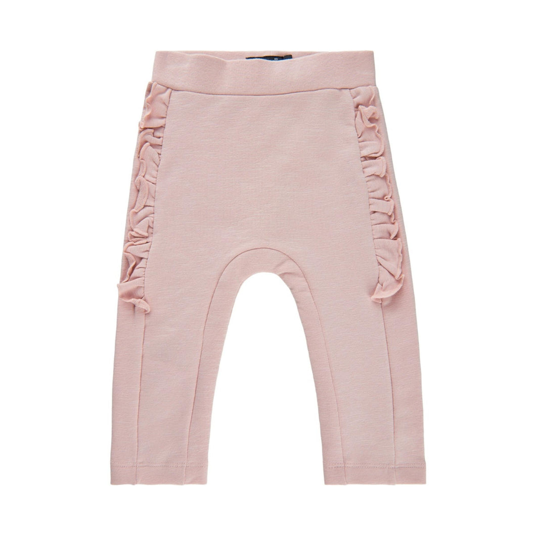 MINYMO- BABY GIRL SMOKE ROSE LEGGINGS