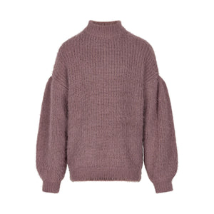 CREAMIE- PINK KNIT SWEATER