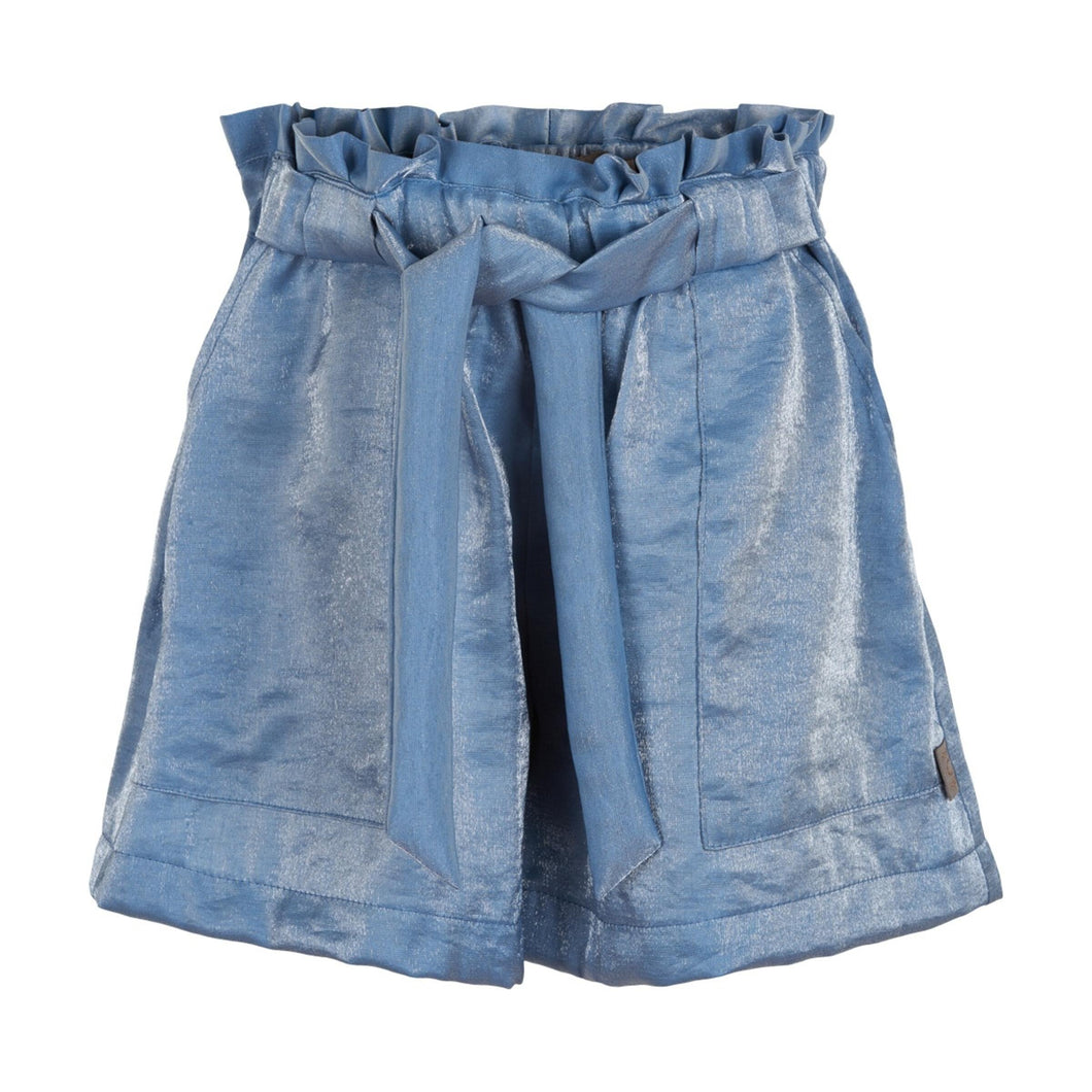 CREAMIE- LIGHT BLUE DENIM SHORTS