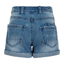 CREAMIE- ORGANZA DENIM SHORTS