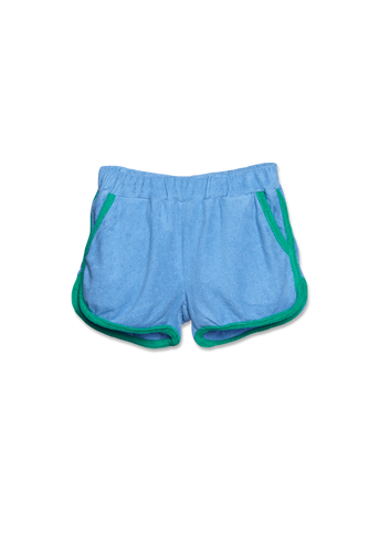 WANDER-N-WONDER - TERRY GYM SHORTS IN IBIZA