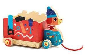 DJECO- PUSH AND PULL TOYS JO TRUCK