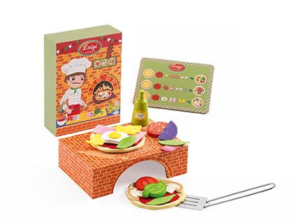 DJECO- LUIGI BRICK OVEN PIZZA COOKING SET