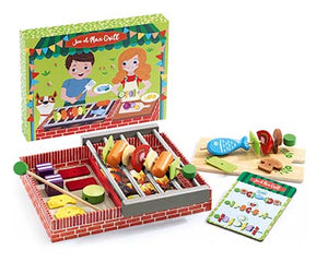 DJECO- JOE AND MAX GRILL COOKING SET