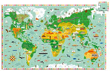 DJECO- OBSERVATION AROUND THE WORLD 200 PC PUZZLE