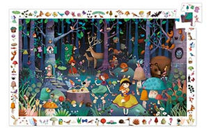 DJECO- OBSERVATION ENCHANTED FOREST 100 PC PUZZLE
