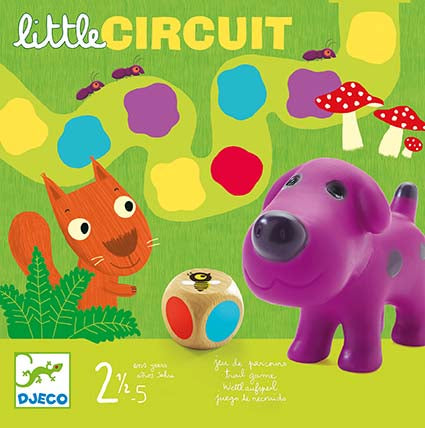DJECO- LITTLE GAMES LITTLE CIRCUIT