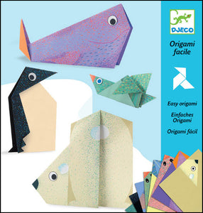 DJECO- ORIGAMI POLAR ANIMALS