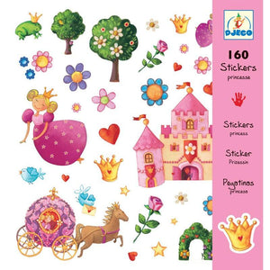DJECO- STICKERS PRINCESS MARGUERITE