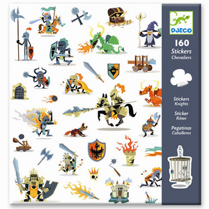 DJECO- STICKERS KNIGHTS