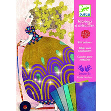 DJECO- SO PRETTY SHIMMER FOIL CRAFT SET