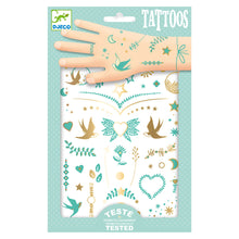 DJECO- TEMPORARY TATTOOS, LILY'S JEWELS