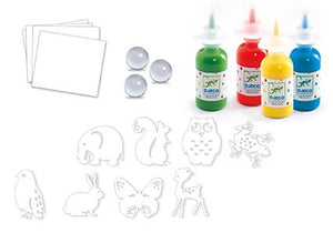 DJECO- COLORFUL PARADE PAINTING SET