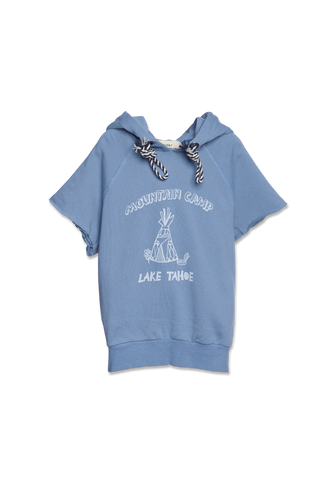 WANDER-N-WONDER- LAKE TAHOE HOODIE TOP IN MIST