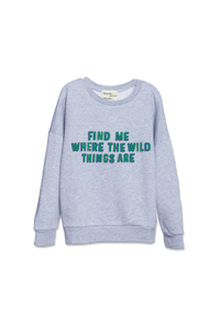 WANDER-N-WONDER- WHERE THE WILD THINGS ARE SWEATSHIRT