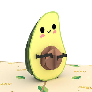 LOVEPOP- GONNA AVO BABY 3D CARD