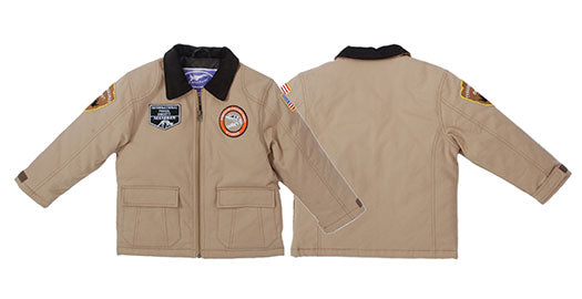 UP & AWAY- Paleontologist Jacket for Infants and Children (4-Patch/Khaki)