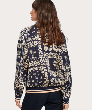 SCOTCH & SODA- REVERSIBLE BOMBER JACKET