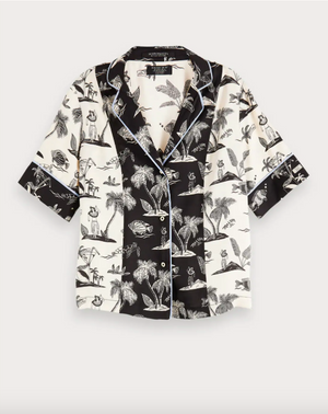 SCOTCH & SODA- PRINTED HAWAII SHIRT