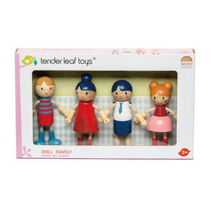 TENDER LEAF TOYS- DOLL FAMILY SET