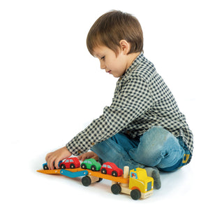 TENDER LEAF TOYS- CAR TRANSPORTER