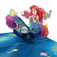 LOVEPOP- DISNEY'S LITTLE MERMAID 3D CARD