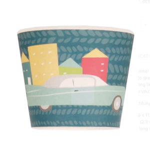 LOVE MAE- BABY FEEDING SET - CARS