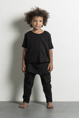 DANIEL PATRICK KIDS- BLACK LAYERED TEE