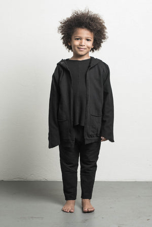 DANIEL PATRICK KIDS- ROAMING HOOD II IN BLACK