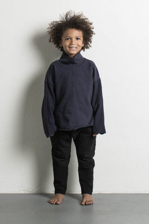 DANIEL PATRICK KIDS- INK BLUE TURTLENECK SWEATER