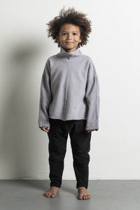 DANIEL PATRICK KIDS- PURPLE GREY TURTLENECK SWEATER