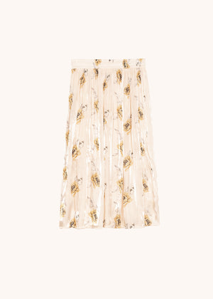 FRNCH PARIS - YELLOW FLORAL SKIRT
