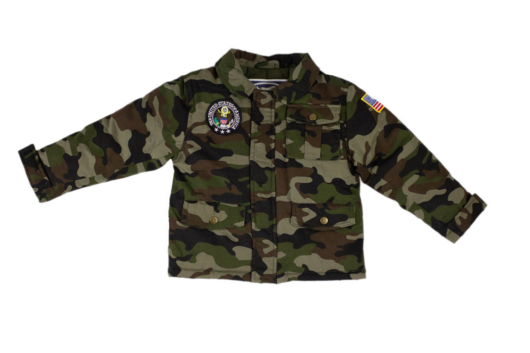 UP & AWAY - CAMOUFLAGE JACKET