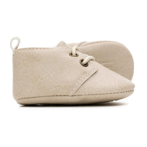 MOXFORD BEIGE ALABASTER SHOES - SWEET N SWAG