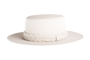 ASN HATS- OFF- WHITE